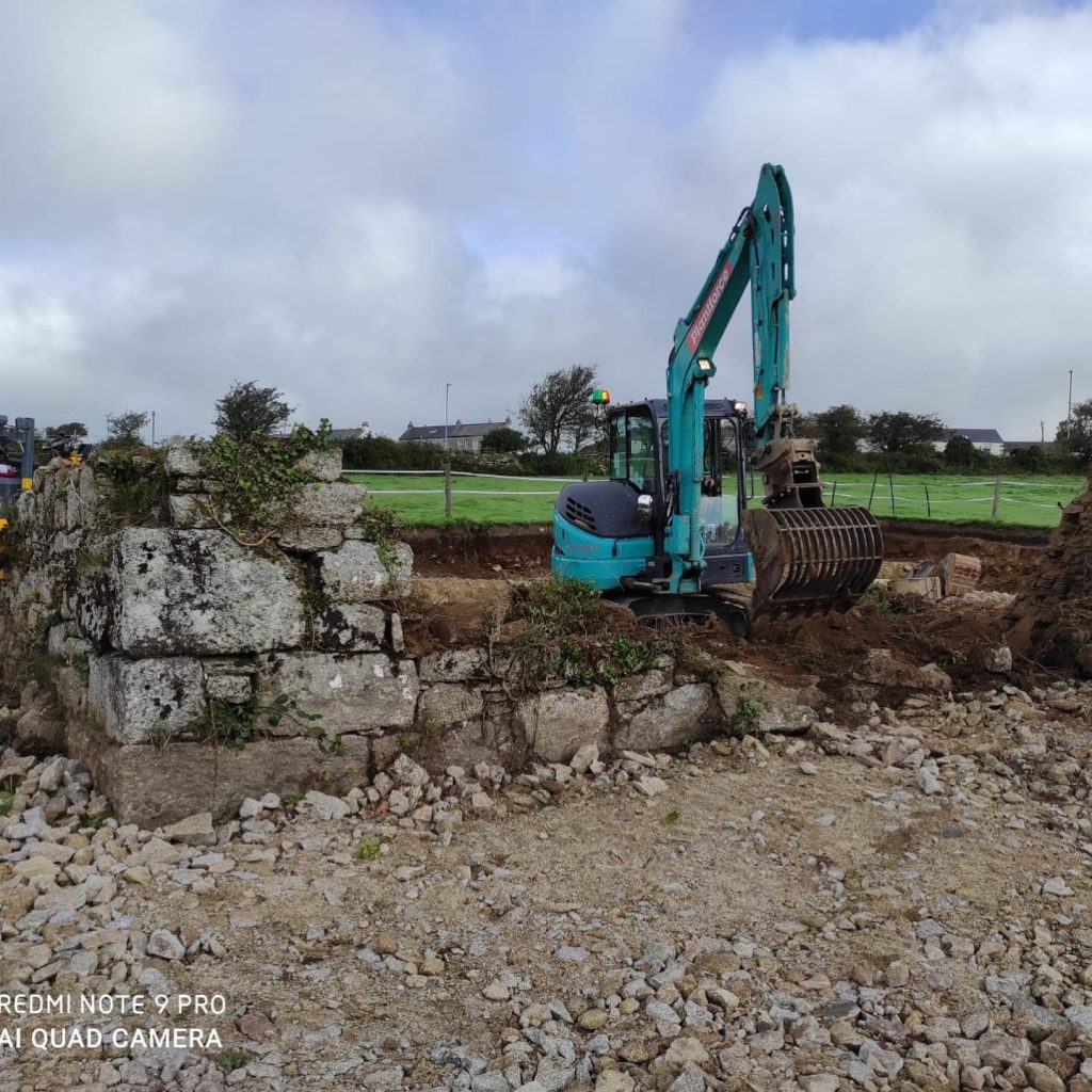 Complete construction project in Halvasso, Cornwall