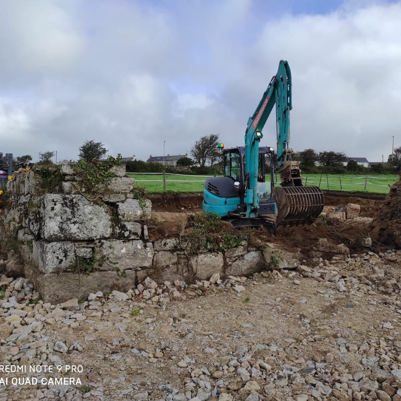 Complete construction project in Halvasso, Cornwall