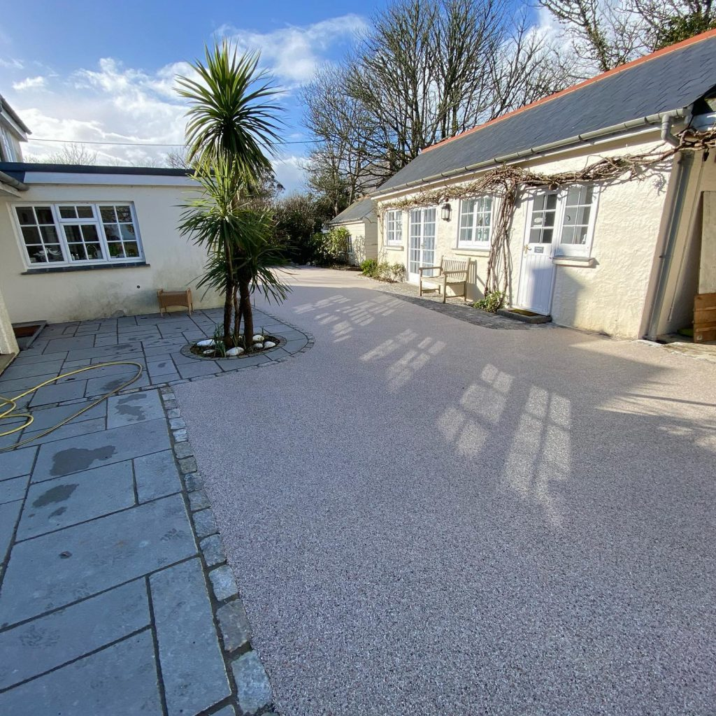 Resin Driveway in Falmouth