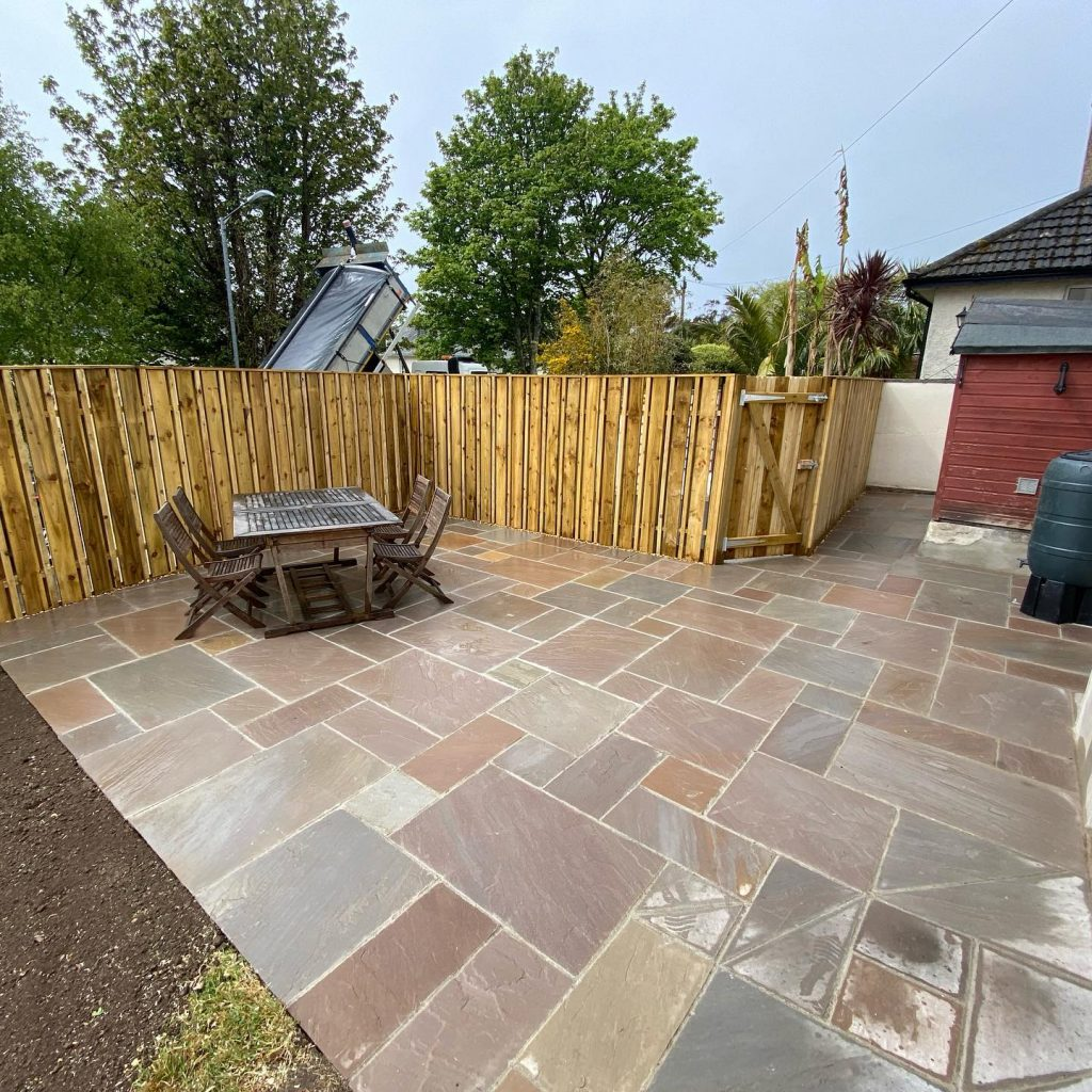 Patio Paving in Falmouth, Cornwall