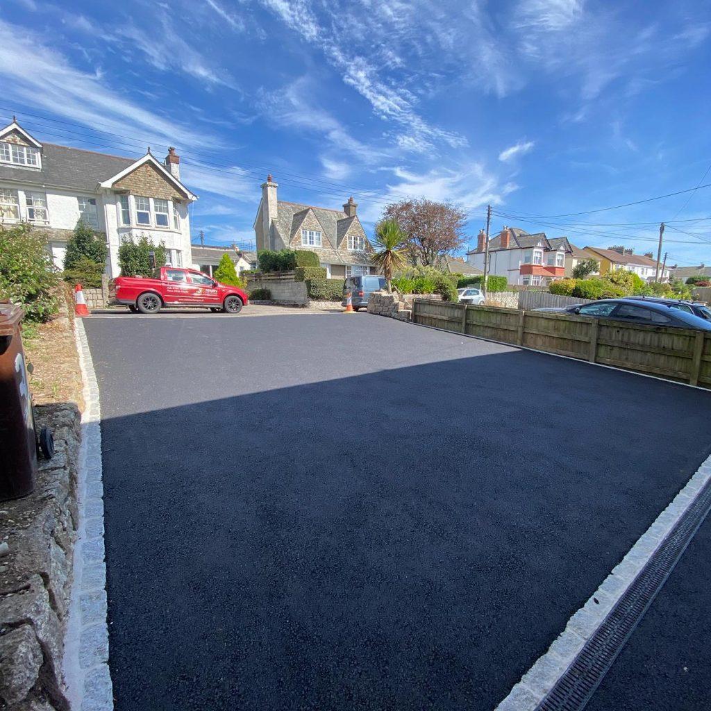 Tarmac Driveway in Cornwall